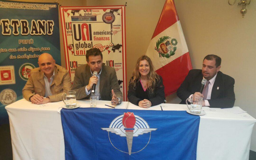 AEBU presente en Perú