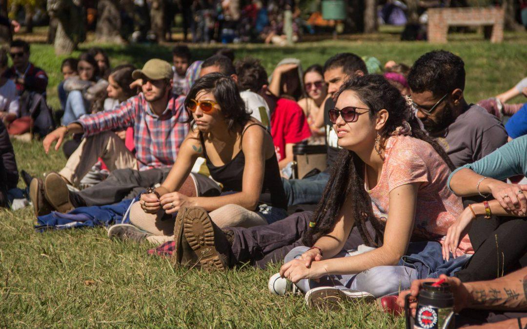 Casi mil jóvenes del movimiento social se reunieron en Las Cañas
