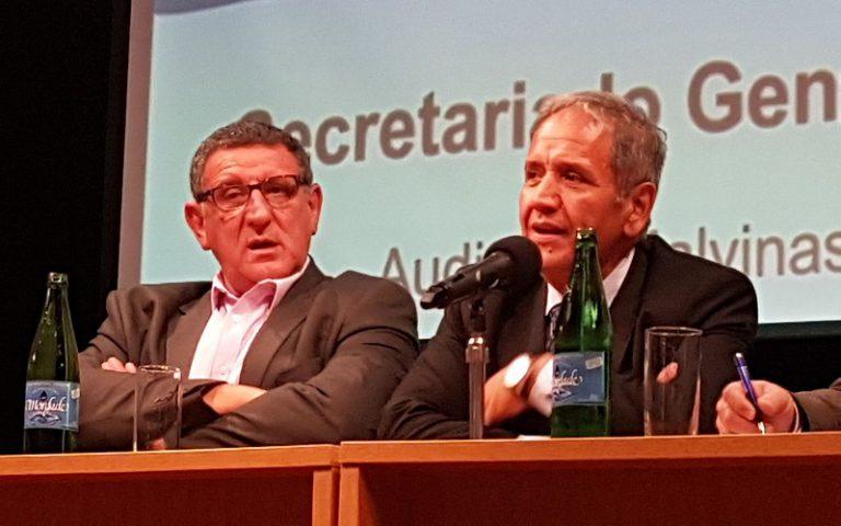 Palazzo cierra Congreso de la Bancaria argentina