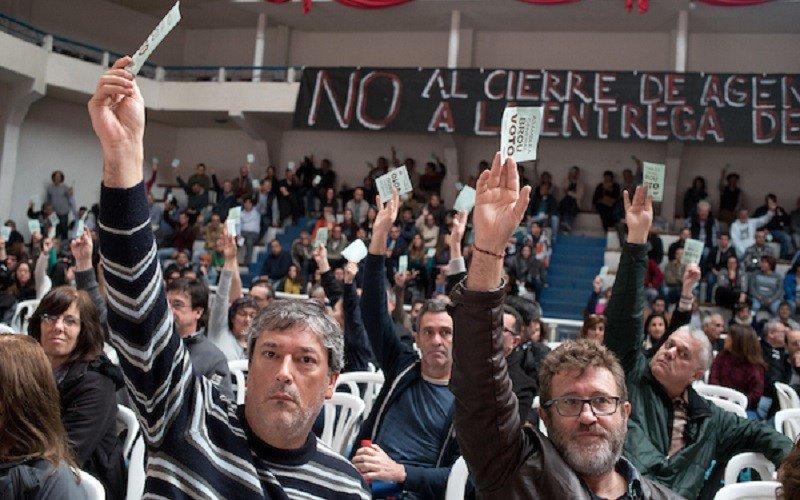 Trabajadores del BROU rechazan propuesta y mantienen conflicto
