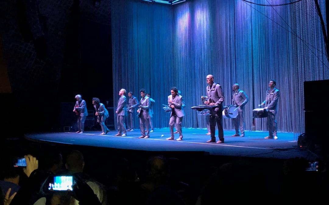 David Byrne deslumbró en Montevideo