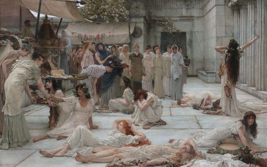 The Women of Amphissa by Lawrence Alma-Tadema
