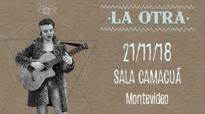 Conocemos a La Otra, que llega desde España para presentarse en Sala Camacuá