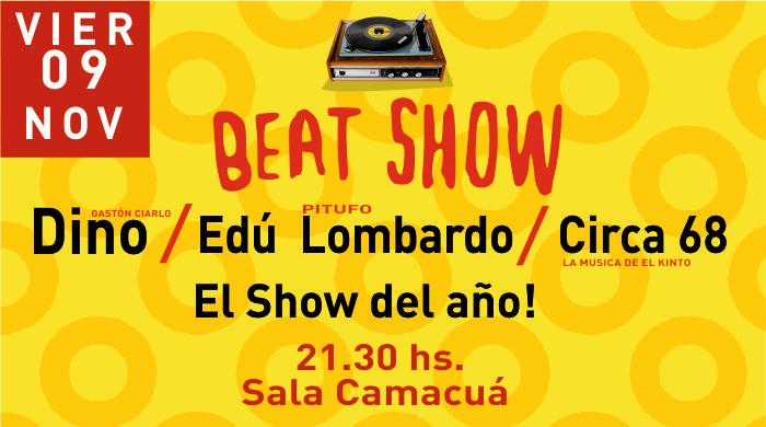 Sala Camacuá homenajea el Candombe beat