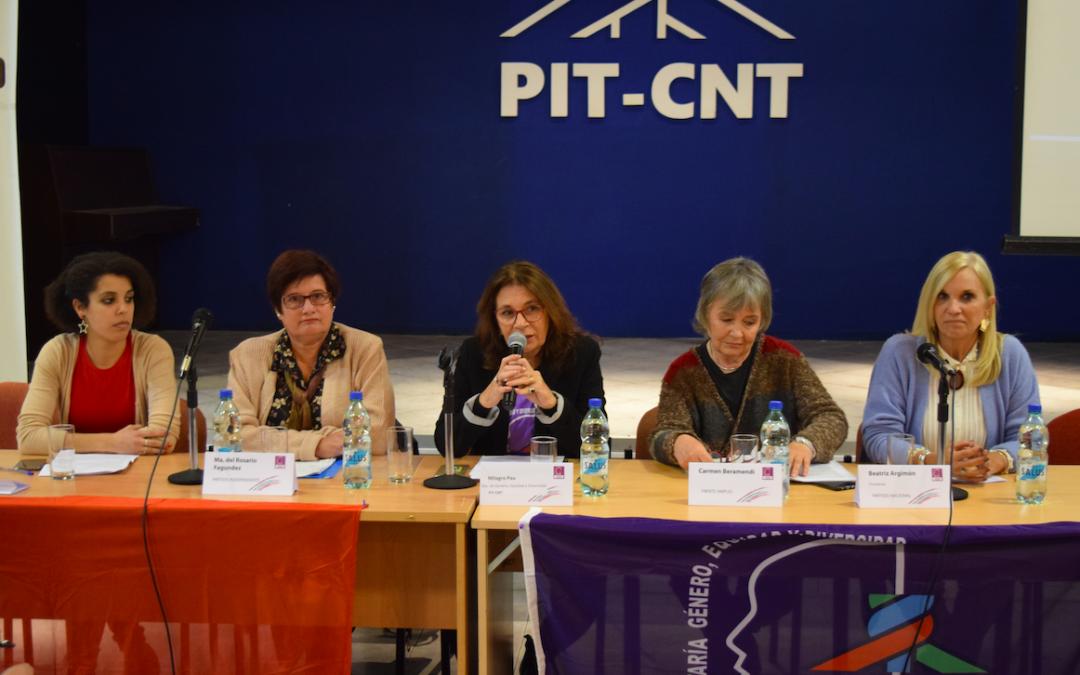 Mujeres referentes políticas intercambiaron sobre temas de igualdad, equidad y diversidad