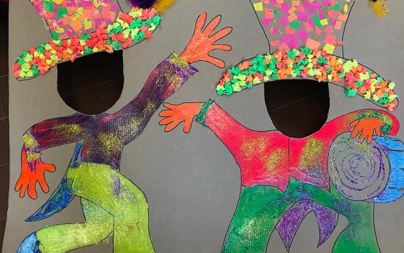 Jardín y Extensión Escolar de AEBU festeja a ritmo de murga