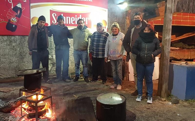 Red de ollas populares del barrio Lavalleja alimenta a más de mil personas por día