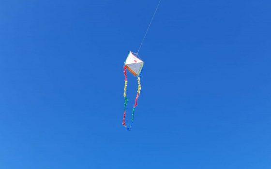 Parque Vacacional de AEBU le puso color al cielo de Piriápolis