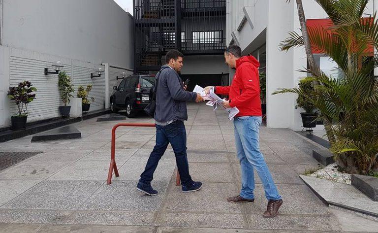 AEBU colaboró con movida de sindicalización en El Salvador
