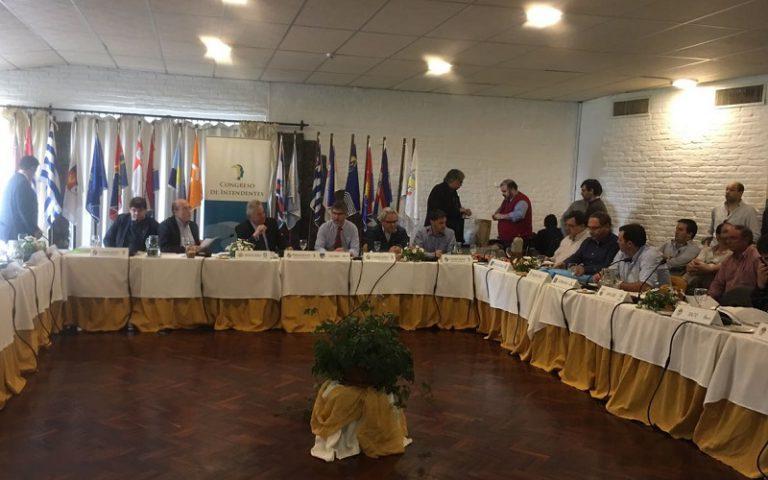 Congreso de Intendentes del lado de AEBU