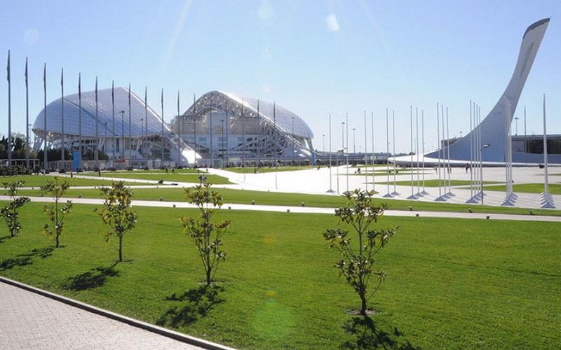 Sochi se prepara para recibir a Uruguay