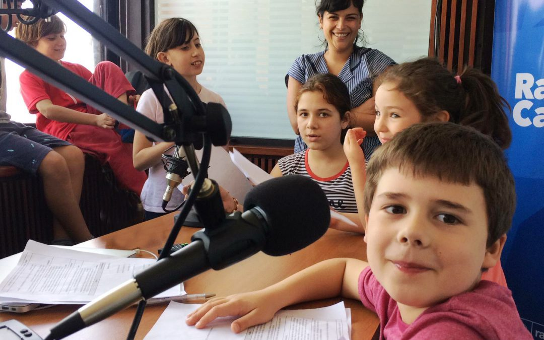 Primer programa de Sintonía Escolar