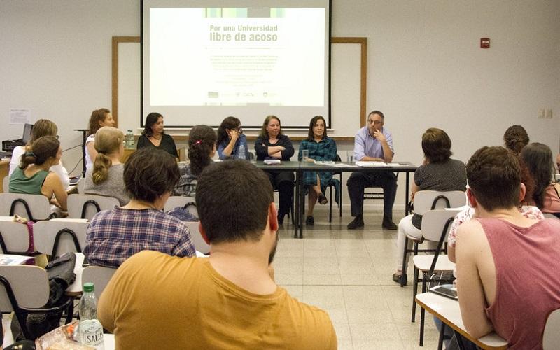 Udelar lanzó campaña contra el acoso sexual