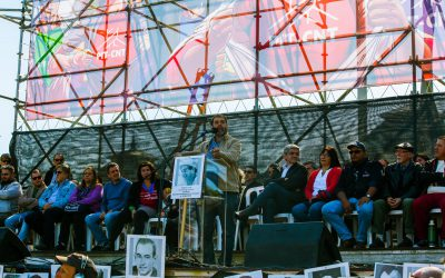 1 DE MAYO: Escuchá el discurso de Fernando Pereira, presidente del PITCNT