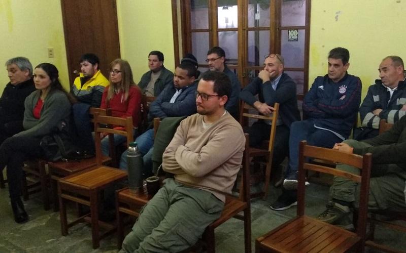 Melo recibió un nuevo Plenario de Banca Oficial