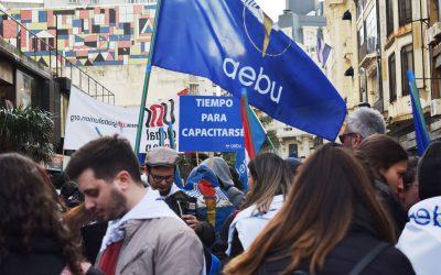 «AEBU por las calles»: los sonidos de una movilización