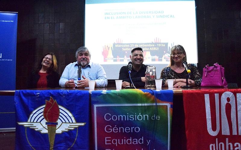Escuchá las intervenciones en la Mesa sobre inclusión de la diversidad