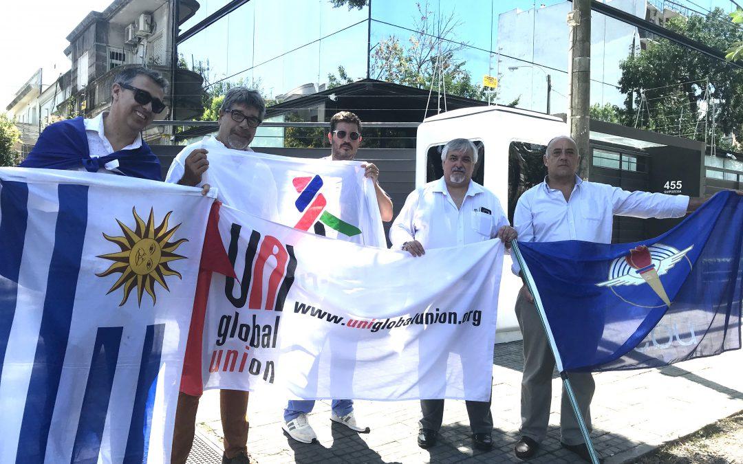 AEBU reclamó ante Embajada de Chile por los DDHH y cese de la violencia