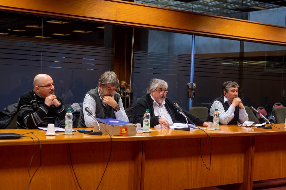 Delegación de AEBU concurrió a comisión de Diputados que estudia proyecto de Urgente Consideración
