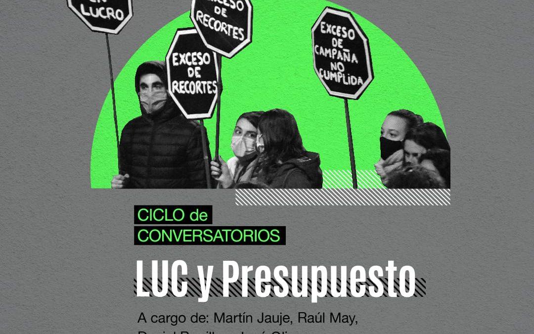 Seccional AEBU de Artigas recibe conversatorio sobre LUC y Presupuesto