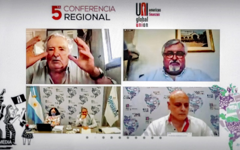 Mujica en Conferencia de UNI: «Gracias por existir, gracias por no callarse»