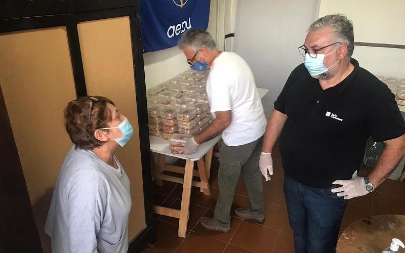 AEBU y el Merendero Las Bóvedas aúnan esfuerzos por la solidaridad